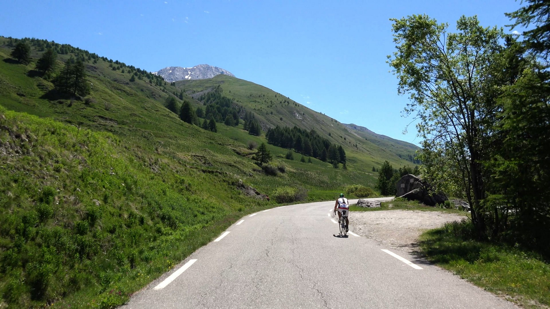 second part of the Col Agnel climb and descent. Thumbnail