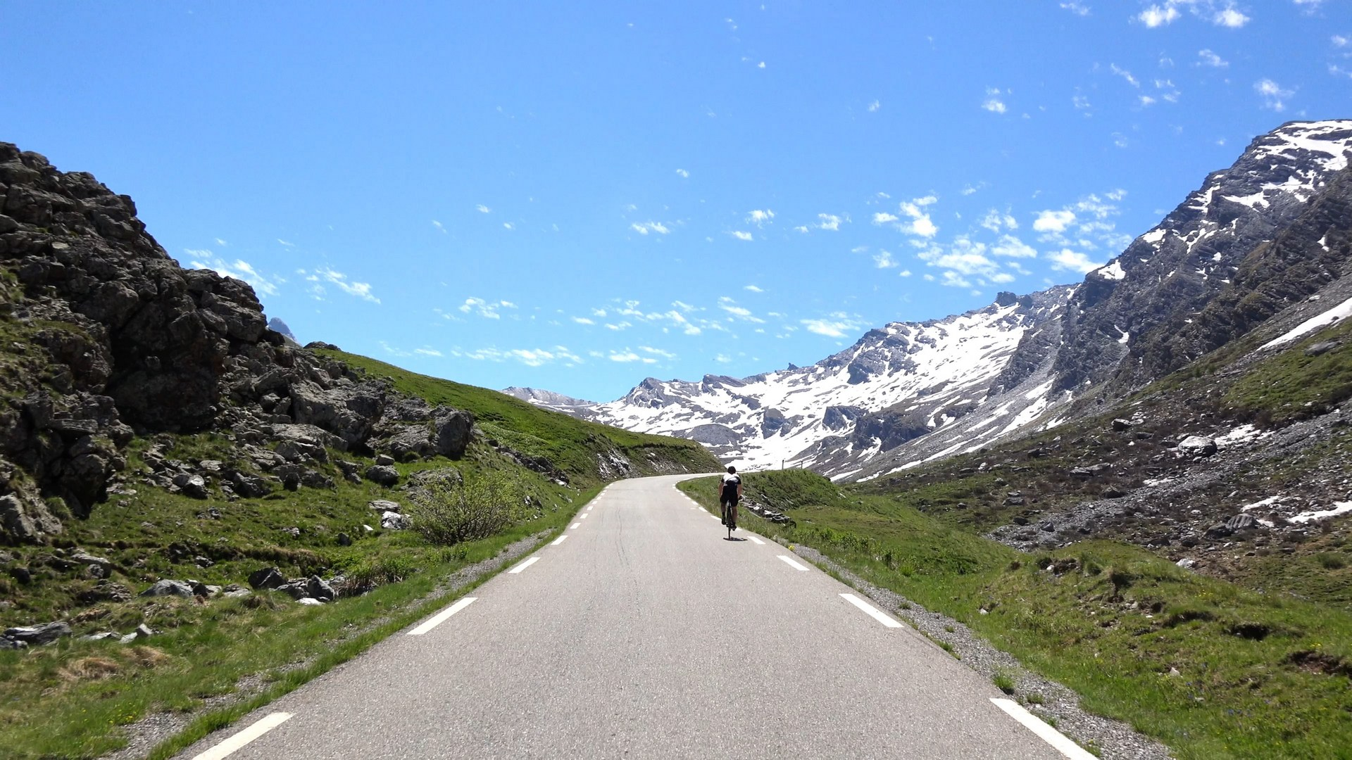second part of the Col Agnel climb and descent. Gallery Image 1