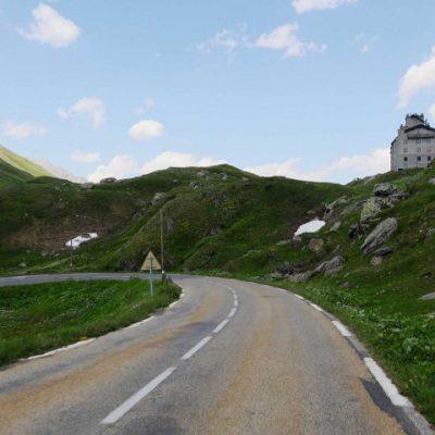 Col du Petit Saint-Bernard North Side
