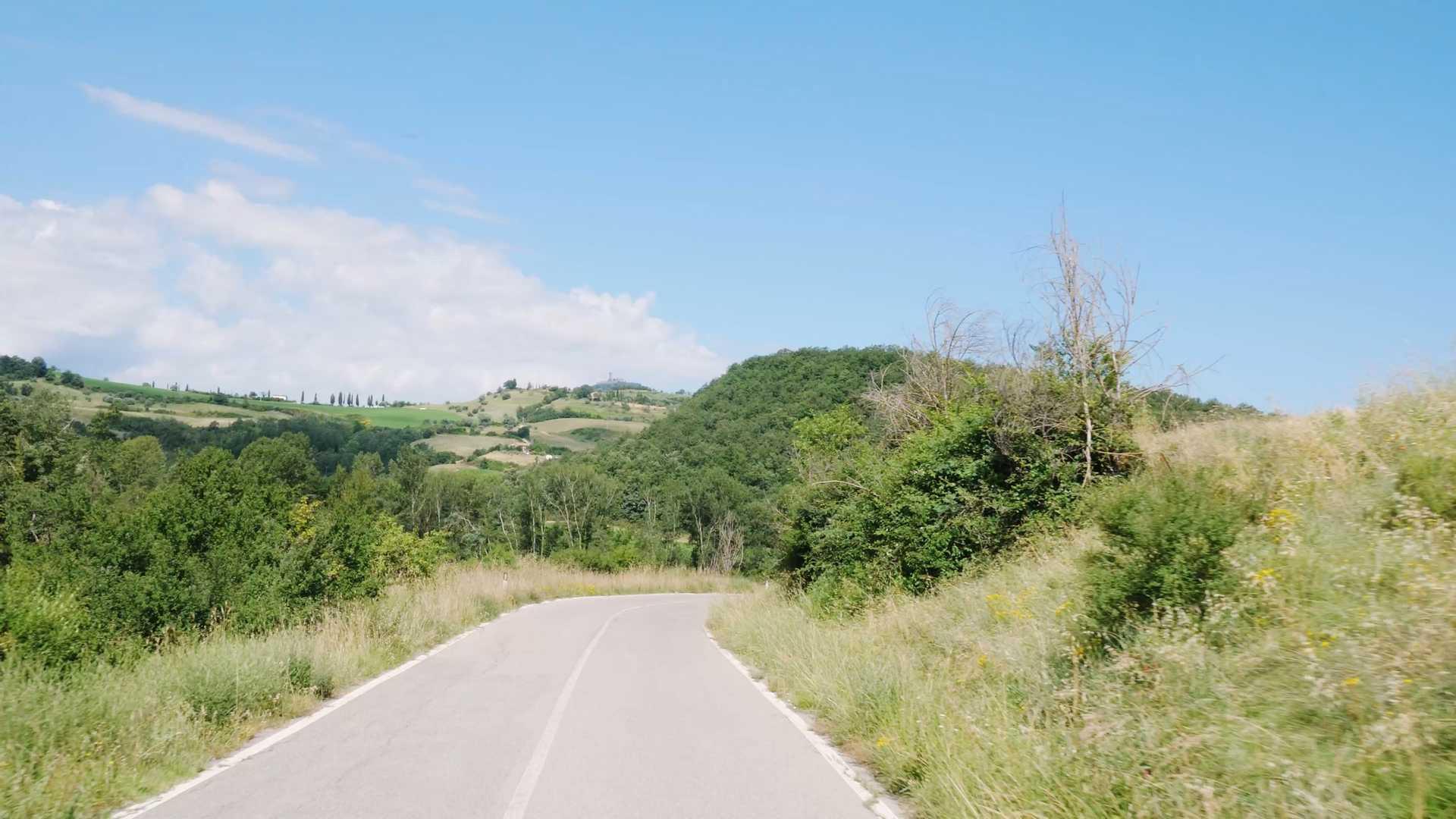 Bolsena lake area