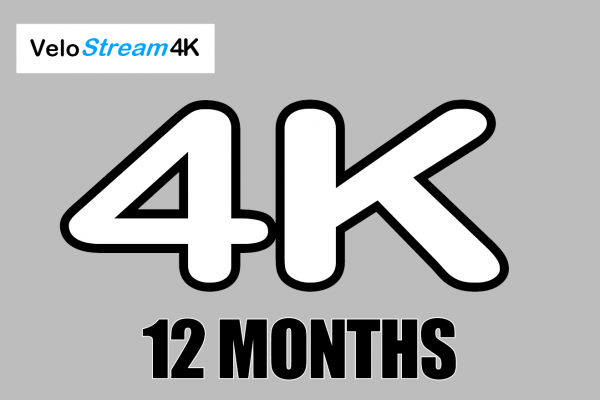 12 month subscription 4K UHD Local