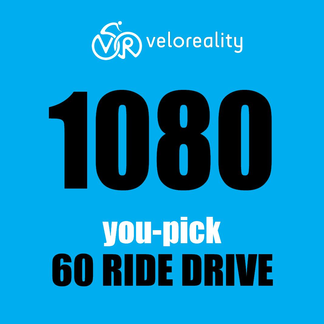 YOU Pick Any 60 1080p Rides